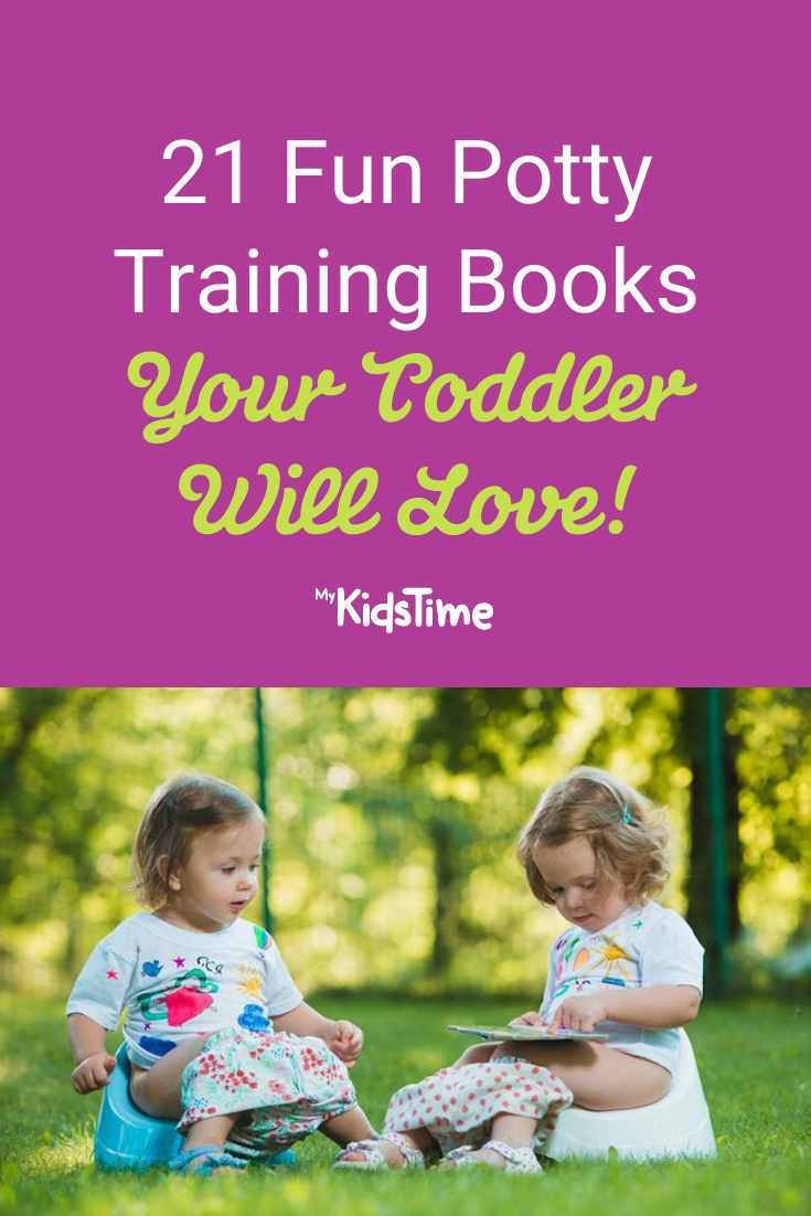 21 Fun Potty Training Books Your Toddler Will Love - Mykidstime