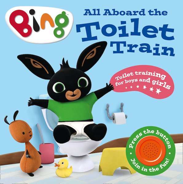All Aboard the Toilet Train for potty training books