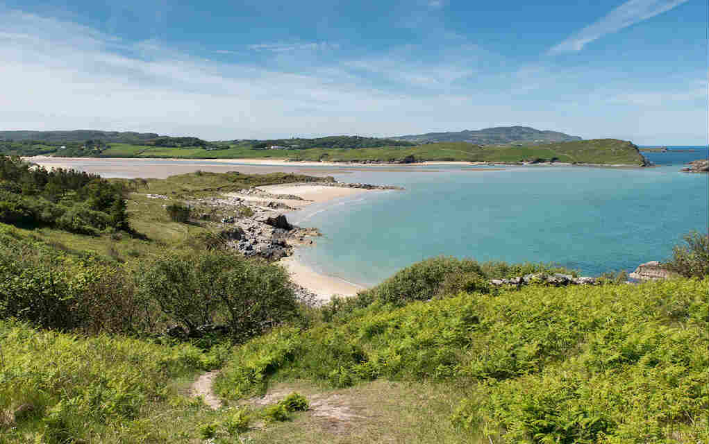 Ards Forest Park for walks in Donegal