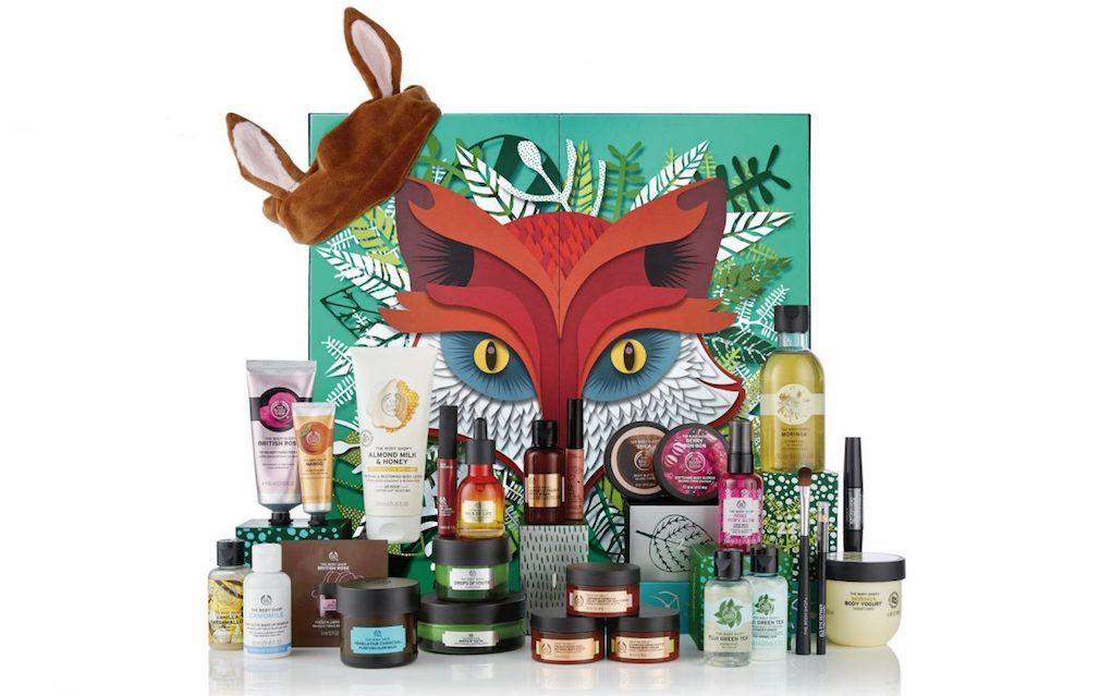 Mykidstime The Body Shop adult advent calendars