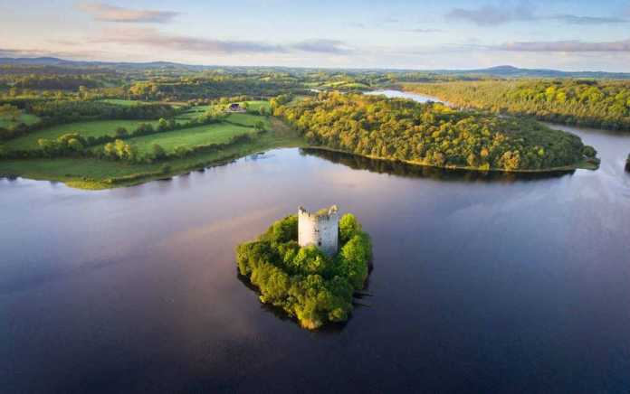 Cloughoughter Castle for things to do in Cavan - Mykidstime