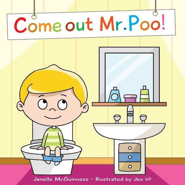 Come Out Mr Poo for potty training books
