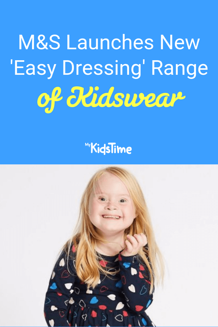 Mykidstime Marks and Spencer easy dressing range