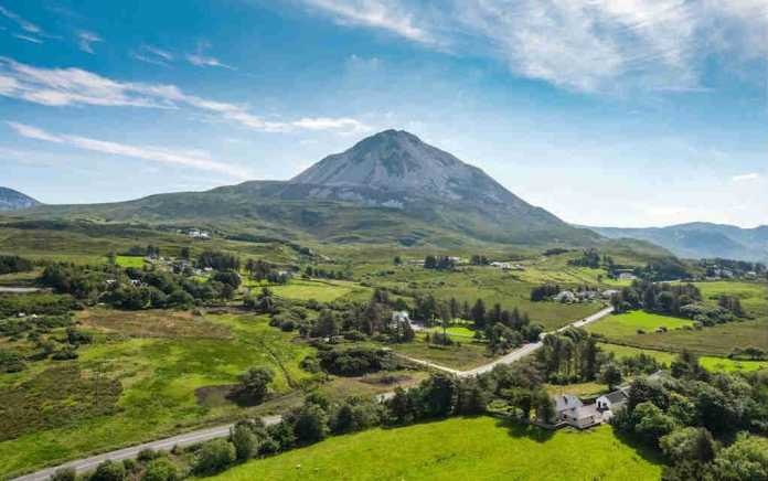 Errigal for walks in Donegal