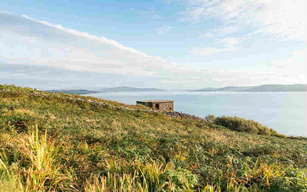 Fort Dunree Inishowen for walks in Donegal