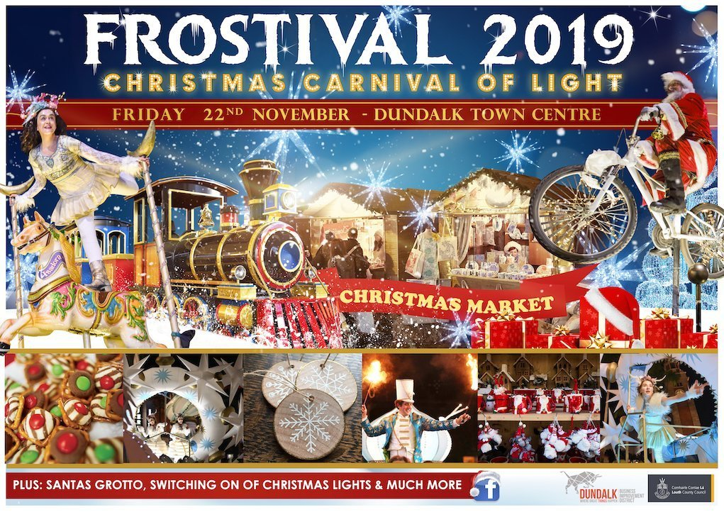 Frostival 2019 poster Christmas Markets in Ireland