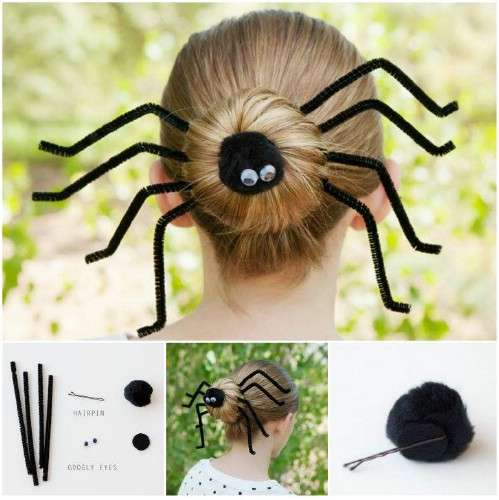Halloween hairstyles for kids
