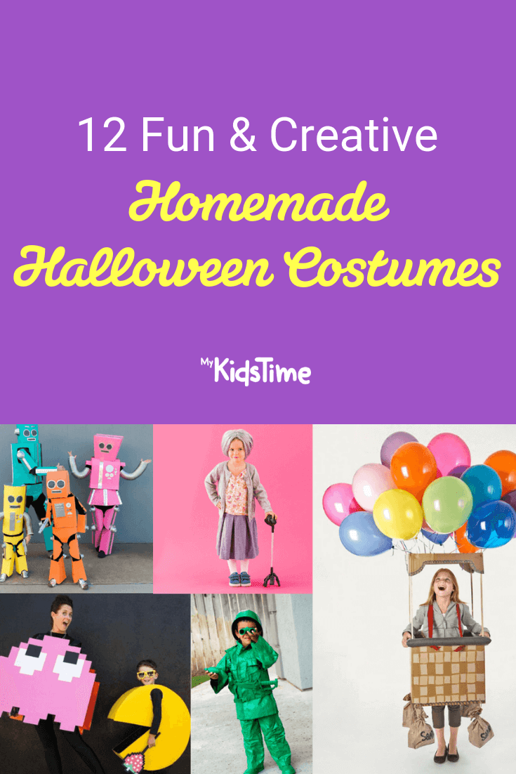 Mykidstime Homemade halloween costumes