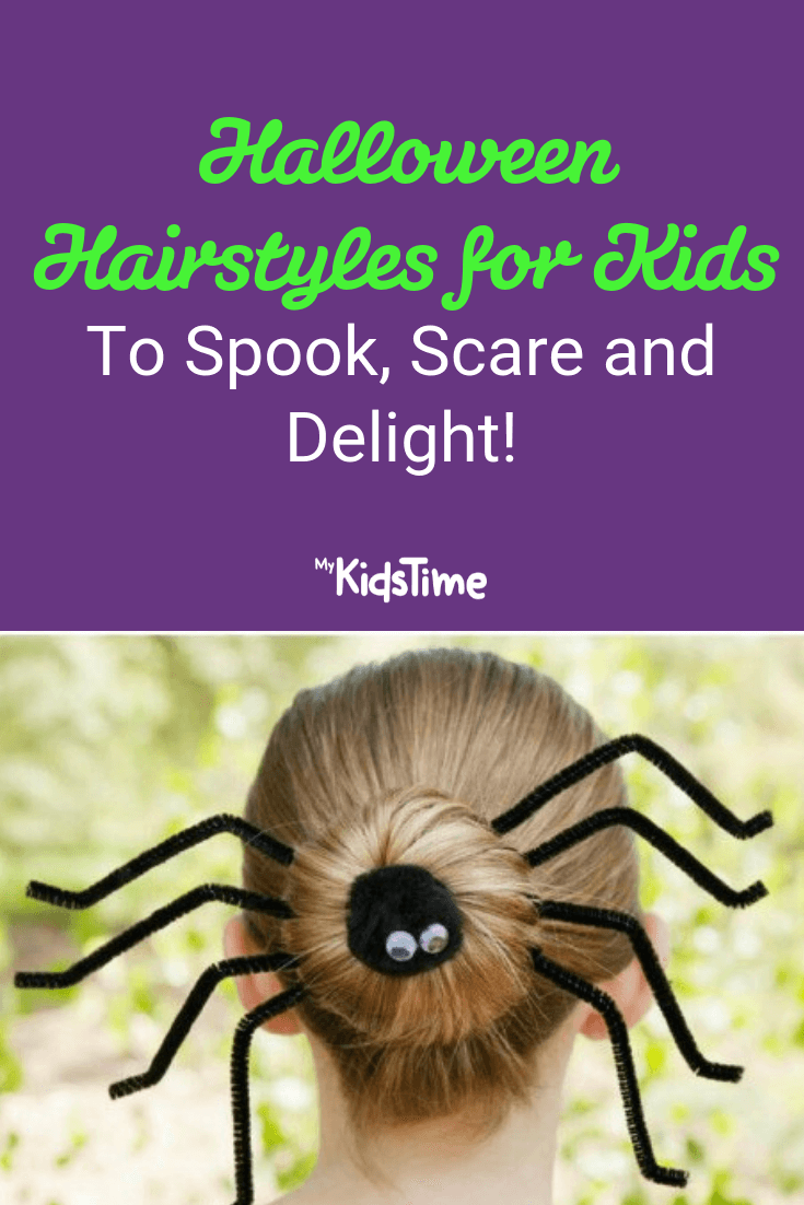 12 Halloween Hairstyles For Kids To Spook Scare And Delight