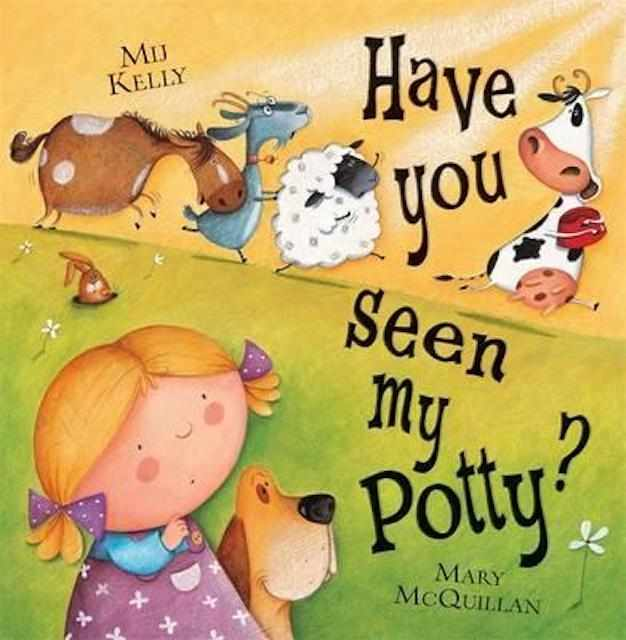 Have you seen my potty for potty training books
