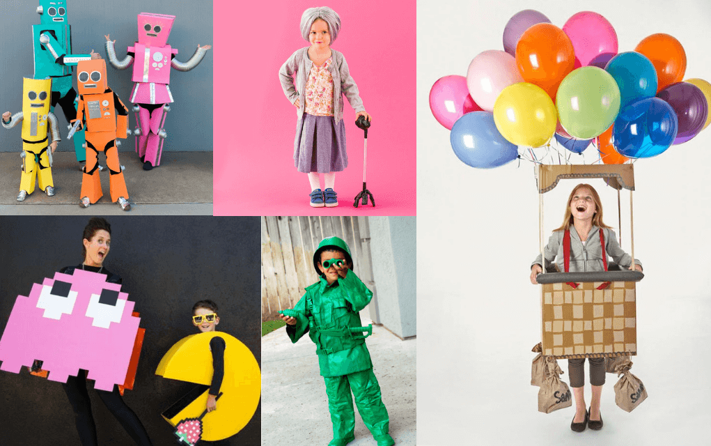 Boo 12 Colourful And Creative Homemade Halloween Costumes