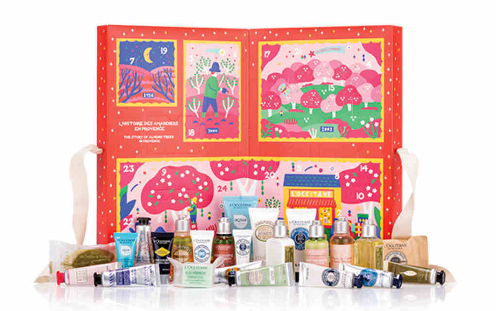 L'Occitane advent calendar - Mykidstime