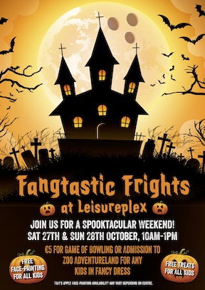 Leisureplex Halloween poster