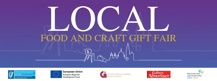 Local food and craft gift fair Galway