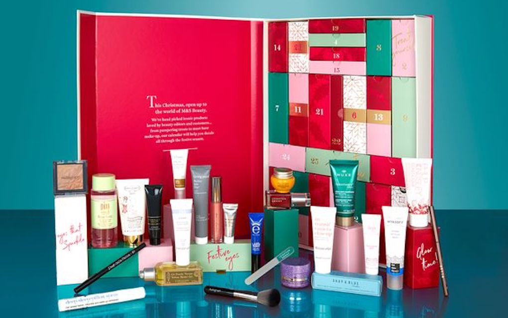 Mykidstime Marks and Spencer beauty adult advent calendars
