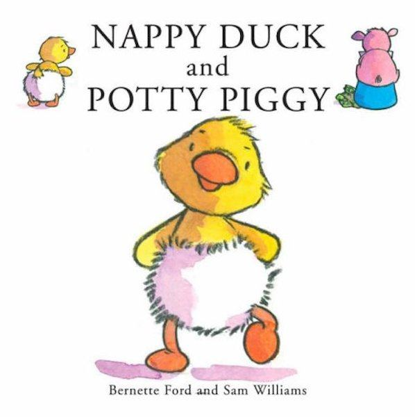 Nappy Duck and Potty Pig for potty training books