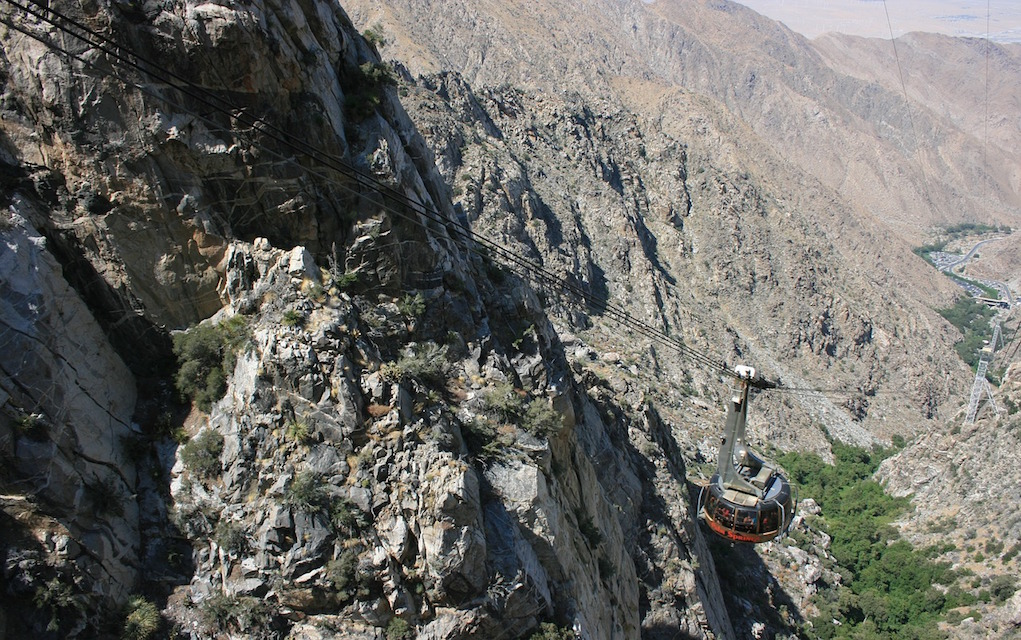 Things to do in Palm Springs with Kids Aerial Tram
