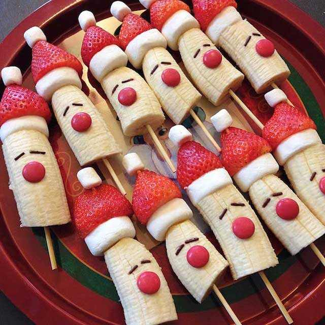 Kid friendly Christmas food