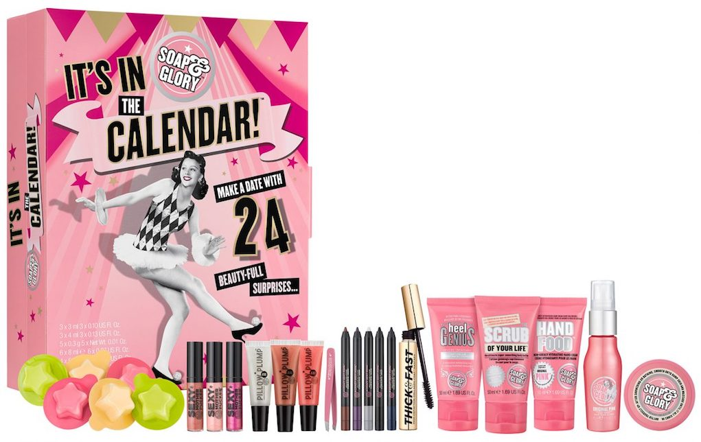 Mykidstime Soap and glory adult advent calendars