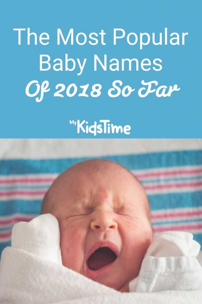 The Most Popular Baby Names Of 2018 So Far
