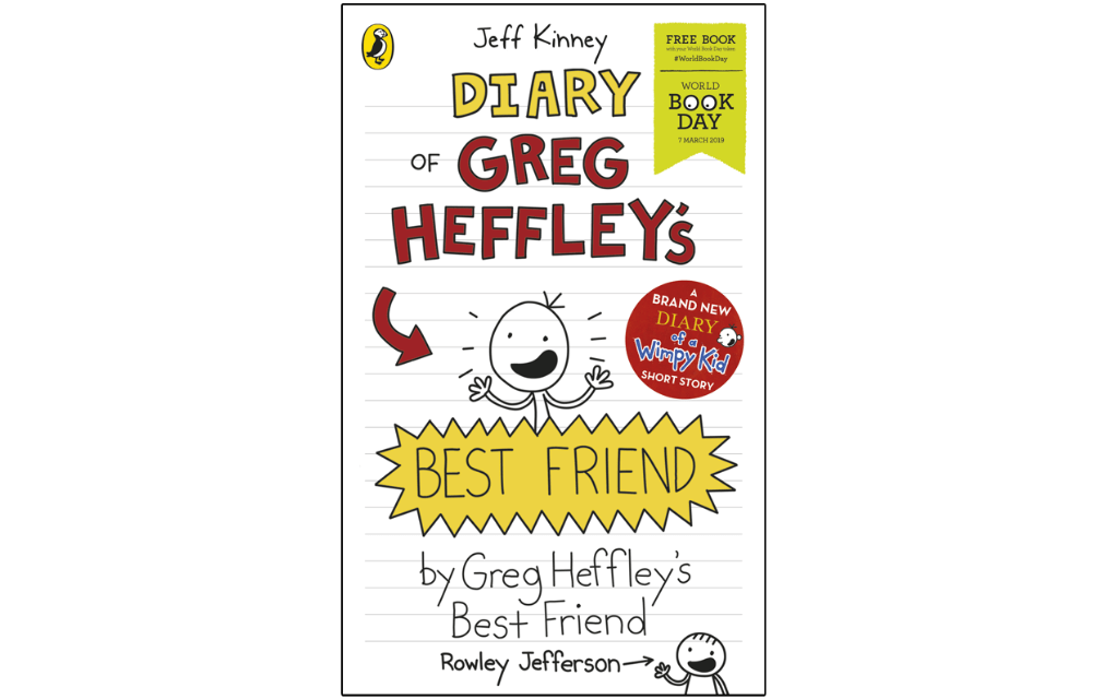 Mykidstime World Book Day 2019 Diary of Greg Heffley's Best Friend