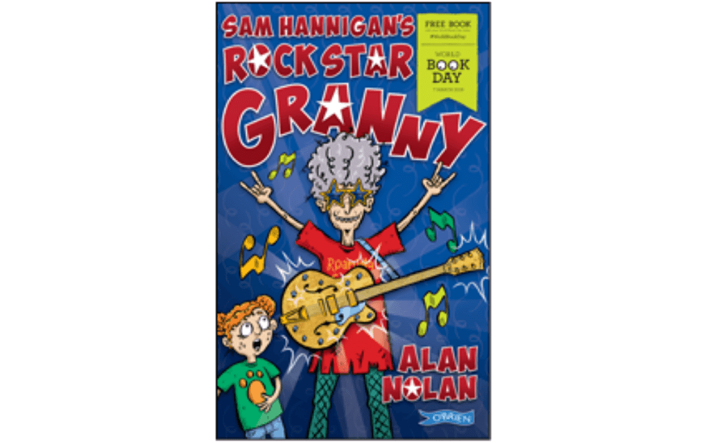 Mykidstime World Book Day 2019 Sam Hannigan's Rock Star Granny