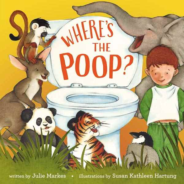 Where's the Poop for potty training books