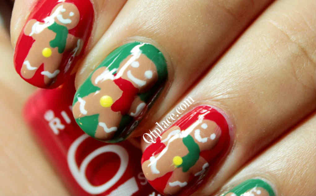 christmas nails - qtplace