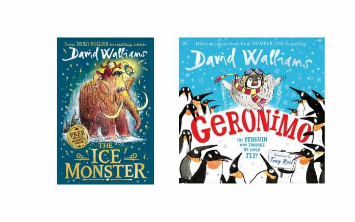 david walliams the ice monster and geronimo