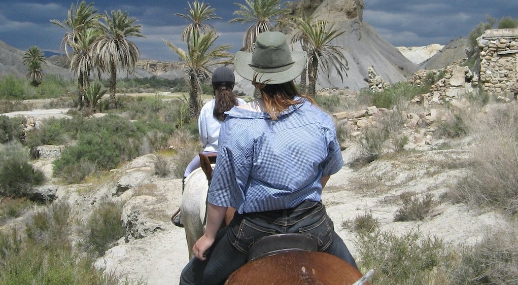 Things to do in Palm Springs with Kids horse riding in the desert