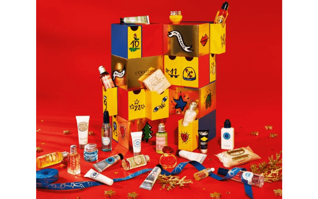 Mykidstime L'occitane adult advent calendars
