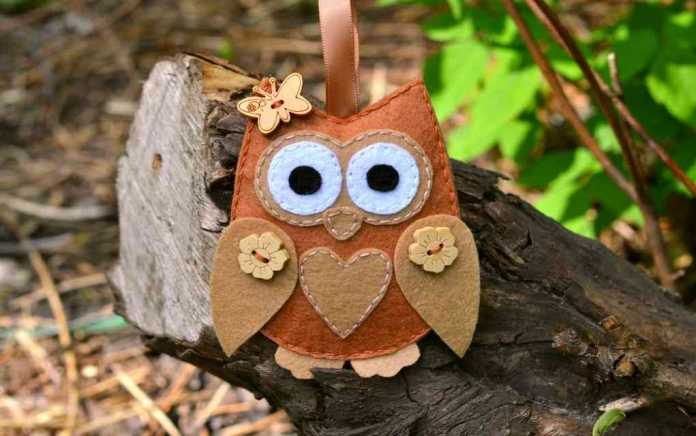 sewing projects for kids owl