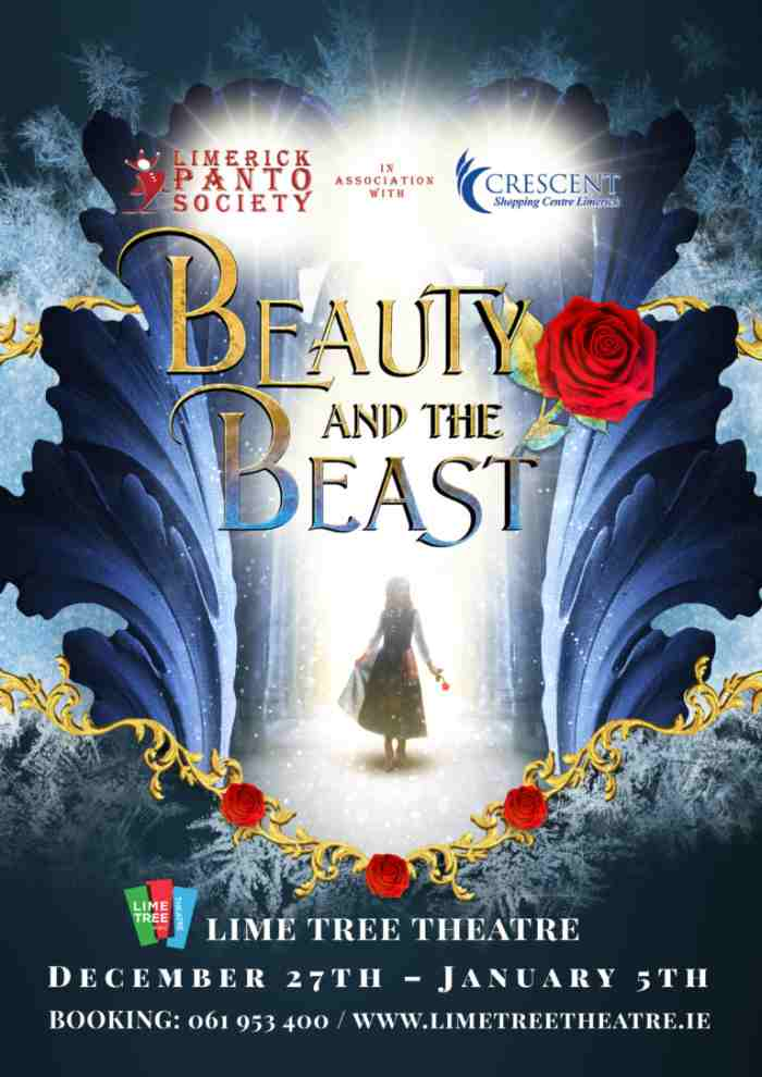 Beauty-and-the-Beast Lime Tree theatre panto best pantos in Ireland