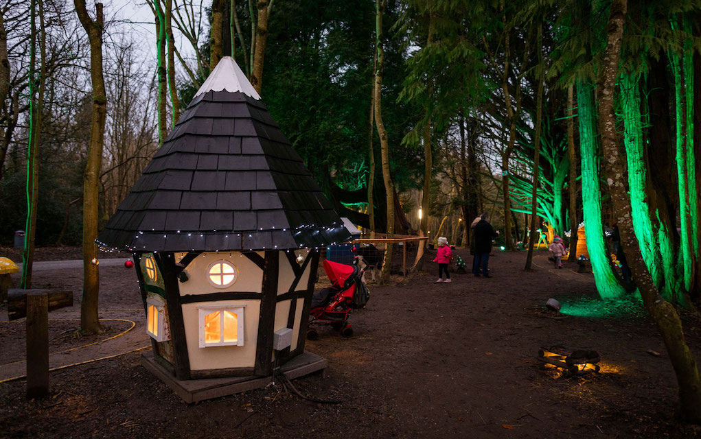 Castlecomer Elf and Fairy Village at Christmas elf events in Ireland
