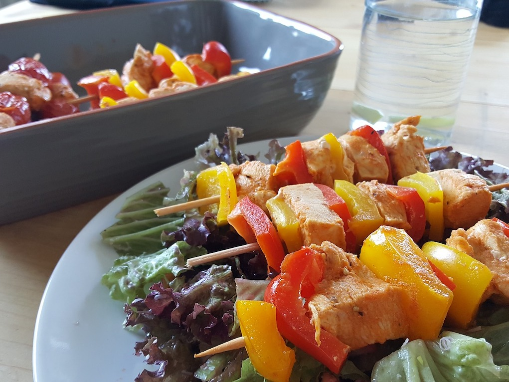 Healthy party food ideas for kids Chicken Skewers