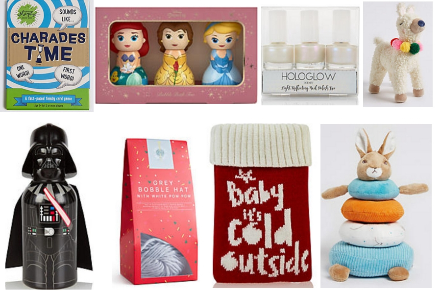Christmas Gifts for Kids from M&S Stocking Fillers
