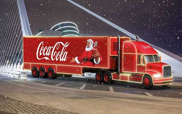 Coca Cola Christmas Truck Tour Ireland 2018