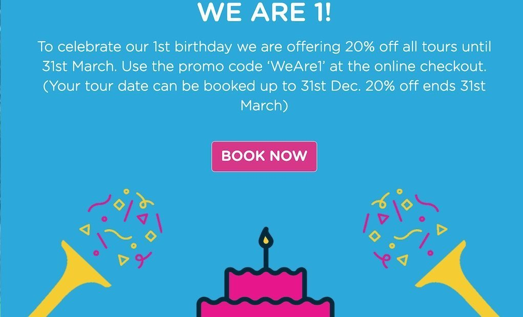 Cool Planet Experience 1st Birthday discount