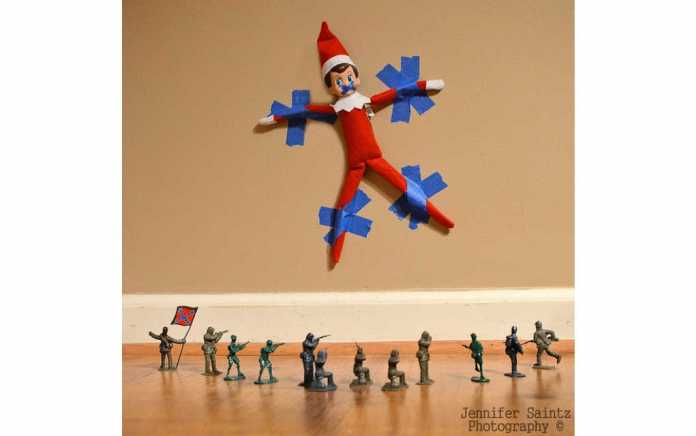 Mykidstime easy elf on the shelf ideas