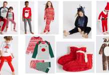 Kids sleepwear for Christmas M&S