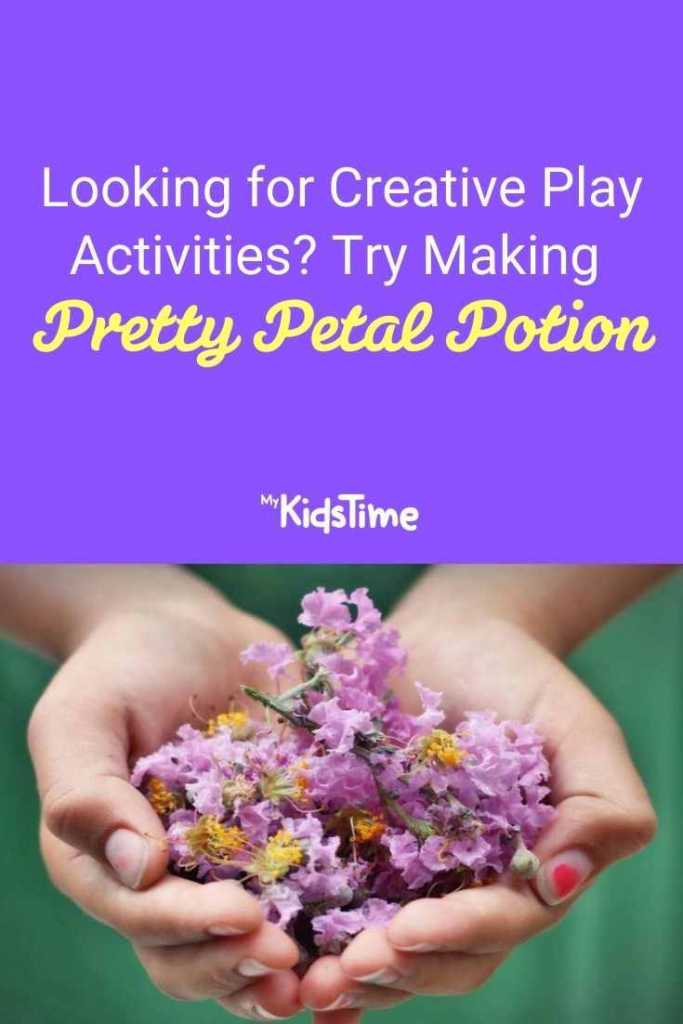 Looking for Creative Play Activities Try Making Pretty Petal Potion