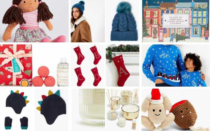 M&S 20 festive gifts for under €20 lead