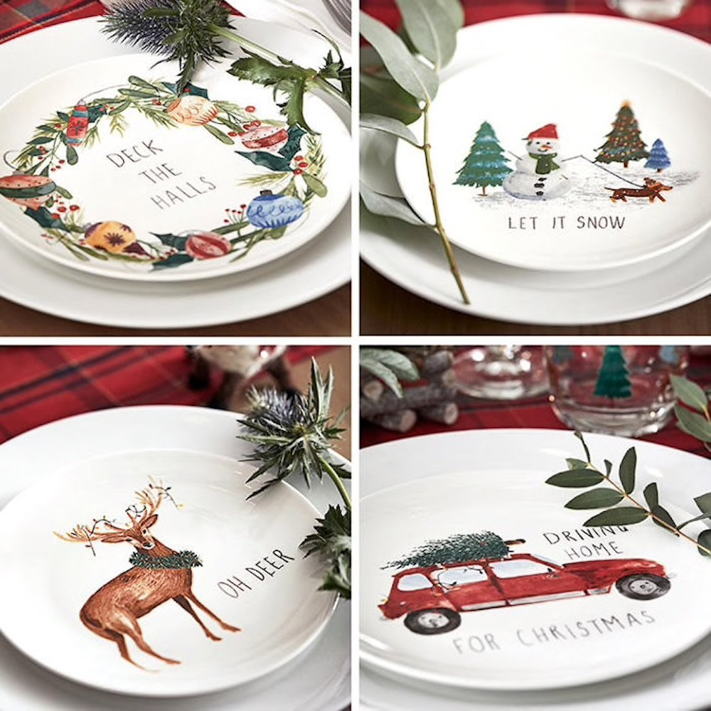 M&S Festive crockery mad about Christmas