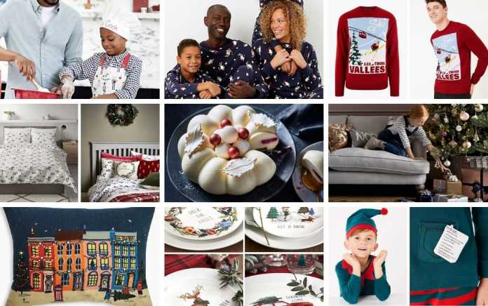 M&S Mad about Christmas lead