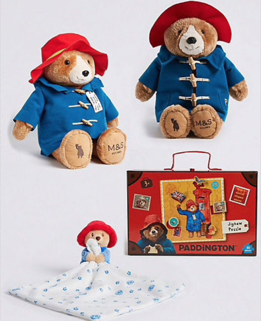 M&S paddington bear gifts festive gifts for under €20