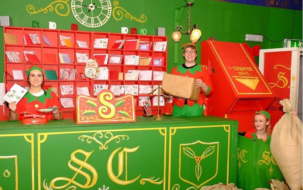 Santa Experience Sorting Office