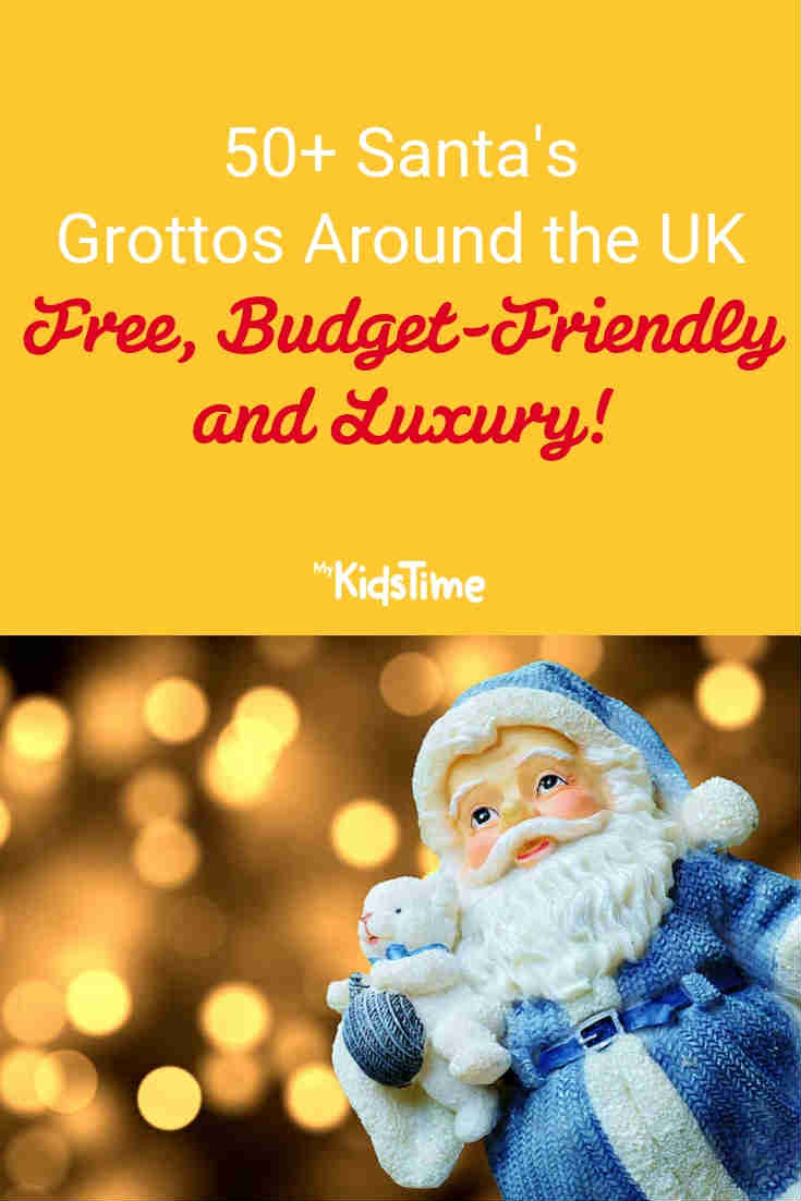 Mykidstime Santa's Grotto experiences in the UK