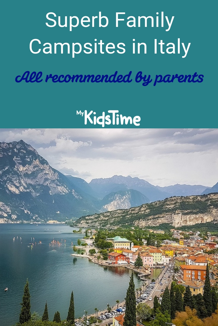 Superb Family Campsites in Italy all recommended by parents