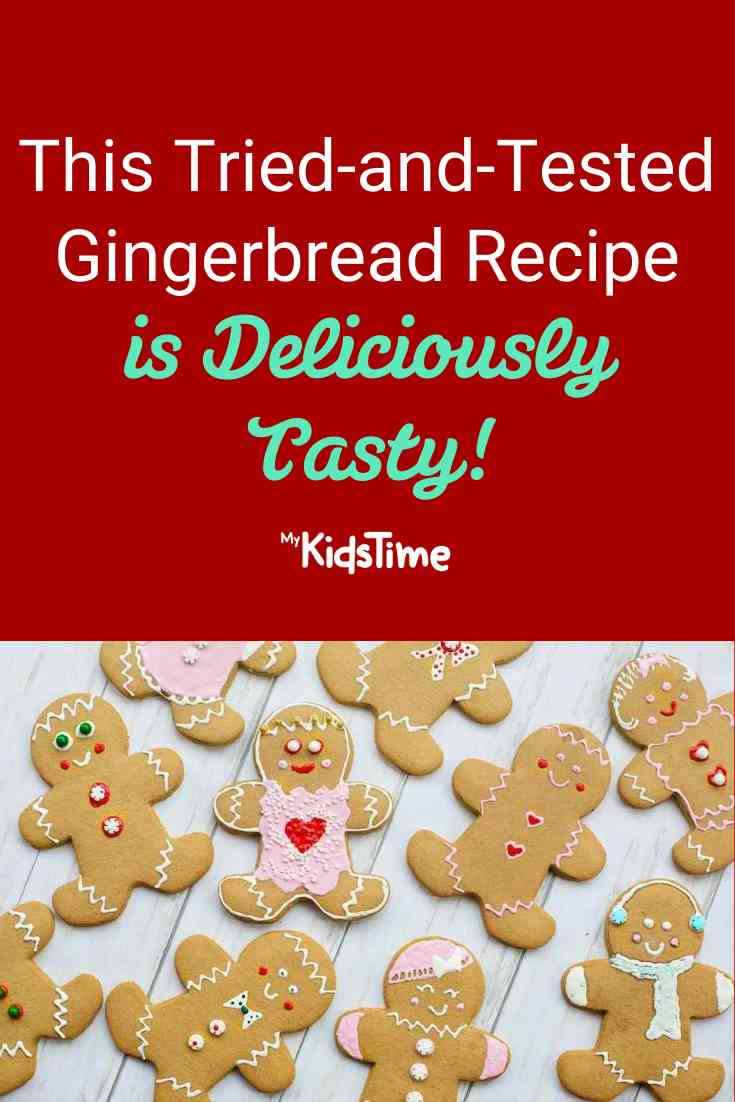 This Gingerbread Men Recipe Is Deliciously Tasty