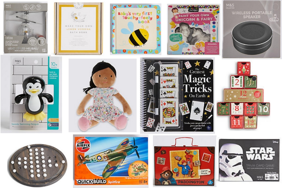Value Christmas Gifts for Kids from M&S